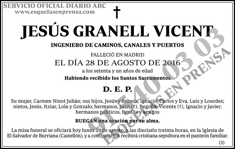 Jesús Granell Vicent